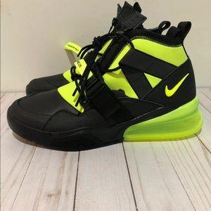Nike Shoes - Nike  Air Force Max 270 Utility Men's Black Volt